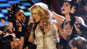 "THE 43rd ANNUAL CMA AWARDS - THEATRE - ""The 43rd Annual CMA Awards"" broadcast live from the Sommet Center in Nashville, WEDNESDAY, NOVEMBER 11 (8:00-11:00 p.m., ET) on the ABC Television Network. (ABC/KATHERINE BOMBOY)CARRIE UNDERWOOD"