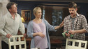 "DESPERATE HOUSEWIVES - ""My Two Young Men"" - John Barrowman makes his way to Wisteria Lane on ABC's ""Desperate Housewives,"" SUNDAY, MARCH 21 (9:00-10:01 p.m., ET). Angie's ex-boyfriend, Patrick (Barrowman), emerges after her trip to New York. Meanwhile it's game on between Gaby and Susan, as they go to shameless lengths to top each other's kids; Lynette believes there's more to Preston's fiance than she's letting on; Bree invites Sam over for a family dinner; and Katherine comes out of the closet. (ABC/RON TOM) DOUG SAVANT, FELICITY HUFFMAN, MAX CARVER"