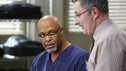 "GREY'S ANATOMY - ""Bad Blood"" - As Derek and April work around the clock to find a solution for the hospital, Cristina struggles to respect the wishes of a family whose son is dying. Meanwhile, Arizona empathizes with a teenager who faces problems similar to her own, on ""Grey's Anatomy,"" THURSDAY,  JANUARY 31 (9:00-10:02 p.m., ET) on the ABC Television Network. (ABC/KELSEY MCNEAL) JAMES PICKENS JR., ANDY MILDER"