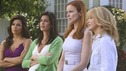 DESPERATE HOUSEWIVES - &quot;Mother Said&quot; - The housewives excommunicate Edie from the neighborhood, on Desperate Housewives,&quot; SUNDAY, MAY 11 (9:00-10:02 p.m., ET) on the ABC Television Network.  (ABC/DANNY FELD) EVA LONGORIA PARKER, TERI HATCHER, MARCIA CROSS, FELICITY HUFFMAN