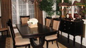 "EXTREME MAKEOVER HOME EDITION - ""Hughes Family,"" - Dining Room, on ""Extreme Makeover Home Edition,"" Sunday, February 17th on the ABC Television Network."