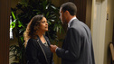 "GREY'S ANATOMY - ""Let The Bad Times Roll"" - The residents agonize over their oral boards, reliving every answer they gave during their exams; Arizona's close childhood friend comes to Seattle Grace for medical help; the doctors work on a patient who is missing one third of his skull; and Julia asks Mark to start a family with her. Meanwhile Catherine tells Richard that one of his residents has failed, on ""Grey's Anatomy,"" THURSDAY, MAY 3 (9:00-10:01 p.m., ET) on the ABC Television Network. (ABC/ERIC MCCANDLESS) DEBBIE ALLEN, JESSE WILLIAMS"
