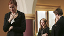 "DESPERATE HOUSEWIVES ""Next"" - The Van de Kamps bid Rex farewell. - (ABC/VIVIAN ZINK) MARCIA CROSS, JOY LAUREN, SHIRLEY KNIGHT, SHAWN PYFROM"