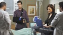 PRIVATE PRACTICE - &quot;Ex-Life&quot; - As Archer recoups from surgery, Derek has Addison work with his pregnant neuro patient; after Sam suffers a sudden asthma attack, Bailey and Naomi work together to find the root cause of Sam's sudden attack; and at Oceanside Wellness, Cooper, Violet and Pete work together to treat a mother suffering from postpartum depression, on &quot;Private Practice,&quot; THURSDAY, FEBRUARY 12 (10:02-11:00 p.m., ET) on the ABC Television Network. (ABC/ERIC MCCANDLESS) JUSTIN CHAMBERS, BEN SHENKMAN, KATE WALSH, PATRICK DEMPSEY