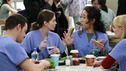 "GREY'S ANATOMY - ""Scars and Souvenirs"" - The race for chief heats up after a new competitor enters the fray, tensions escalate between Izzie and George, and Callie must reveal a big secret. Meanwhile, Derek treats a patient near and dear to him, while Alex continues his work with Jane Doe, on ""Grey's Anatomy,"" THURSDAY, MARCH 15 (9:00-10:01 p.m., ET) on the ABC Television Network. (ABC/RON TOM)JUSTIN CHAMBERS, ELLEN POMPEO, SANDRA OH, KATHERINE HEIGL"