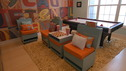 "EXTREME MAKEOVER HOME EDITION - ""Jordan Family,"" - Living Room, on ""Extreme Makeover Home Edition,"" Sunday, April 26th on the ABC Television Network."