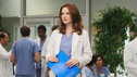 GREY'S ANATOMY - &quot;Free Falling&quot; - In the first hour, &quot;Free Falling&quot; (9:00-10:00 p.m.), the fifth-year residents return for the first day of a year that will make or break their careers: Meredith faces the consequences of tampering with Derek's clinical trial and is terminated at the hospital; April tries to step up to the plate as Chief Resident in the wake of a giant sinkhole in the middle of Seattle; and Cristina and Owen are still at odds over their drastically different feelings for their unborn child. &quot;Grey's Anatomy&quot; returns for its eighth season with a two-hour event THURSDAY, SEPTEMBER 22 (9:00-11:00 p.m., ET) on the ABC Television Network. (ABC/DANNY FELD) SARAH DREW