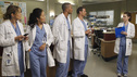 "GREY'S ANATOMY - ""Take the Lead"" - The Chief makes a career-changing decision that shocks Seattle Grace Hospital; Cristina and Owen try to find normalcy in their relationship; April continues to struggle in her new role; and the 5th year residents are given their first solo surgeries, only to find out that even the most routine procedures aren't always easy, on Grey's Anatomy, THURSDAY, SEPTEMBER 29 (9:00-10:02 p.m., ET) on the ABC Television Network. (ABC/JORDIN ALTHAUS) ELLEN POMPEO, SANDRA OH, JESSE WILLIAMS, JUSTIN CHAMBERS, SARAH DREW"