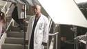 GREY'S ANATOMY - &quot;Put Me In, Coach&quot; - Owen stresses teamwork and moves his leadership role over to the baseball field when he signs the doctors up for a baseball league, pitting them against their biggest competition, Seattle Presbyterian; Lexie tries to hide her jealous rage when she sees Mark with a new woman, but her emotions get the better of her; Alex fights to keep Zola at Seattle Grace after it is suggested that she be moved to another hospital due to a conflict of interest with Meredith and Derek; and Richard scolds Meredith and Bailey for their feud, on Grey's Anatomy, THURSDAY, OCTOBER 27 (9:00-10:02 p.m., ET) on the ABC Television Network. (ABC/RICHARD CARTWRIGHT) JAMES PICKENS JR.