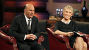"SHARK TANK - ""Episode 206"" -- For the first time, there will be children seeking a business investment from the Sharks for an idea they came up with while on a family road trip. Also in this episode, a stay-at-home mom who taught herself carpentry and started a furniture business has the Sharks fighting for a piece of it; an entrepreneur brings an innovative secret formula to the Tank; and a personal trainer believes he has the next hot trend in fitness equipment.  In addition, there'll be a follow-up with Grill Charms' owner, Leslie Haywood, to see what making a deal with Robert Herjavec has done for her barbeque accessory, on ""Shark Tank,"" FRIDAY, APRIL 1 (8:00-9:00 p.m., ET) on the ABC Television Network. (ABC/CRAIG SJODIN) KEVIN O'LEARY, BARBARA CORCORAN"