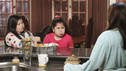 "DESPERATE HOUSEWIVES - ""The Ballad of Booth"" - Lynette comes to a shocking realization about Eddie on ABC's ""Desperate Housewives,"" SUNDAY, MAY 9 (9:00-10:01 p.m., ET). Meanwhile, Angie discreetly relies on Gaby for help when Patrick threatens the life of her son; Bree offers Sam a generous payoff to walk away; and Susan and Mike's financial woes result in the ultimate sacrifice. (ABC/RON TOM)MADISON DE LA GARZA, DANIELLA BALTODANO, EVA LONGORIA PARKER"