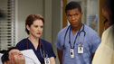 "GREY'S ANATOMY - ""Things We Said Today"" - Bailey puts her wedding day on hold and continues her efforts to save Adele's life, Cristina and Owen remain undecided about their pending divorce, while Arizona and Callie try to get their spark back. Meanwhile, the hospital becomes inundated with a group of bikers after a horrible accident, on ""Grey's Anatomy,"" THURSDAY, JANUARY 10 (9:00-10:02 p.m., ET) on the ABC Television Network. (ABC/KELSEY MCNEAL) RICHARD KAHAN, SARAH DREW, GAIUS CHARLES"