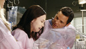 "GREY'S ANATOMY - ""If Only You Were Lonely"" - As Adele's condition continues to deteriorate, Richard considers altering their living situation; an explosion at a local coffee shop results in a busy day in the ER for the doctors; Callie takes Meredith under her wing by helping her study for her boards; Lexie joins Arizona and Alex in peds, as they continue to care for intern Morgan's premature son; and when Jackson snaps at a patient, Mark encourages him to find ways to relieve his stress. Meanwhile, Cristina lets her suspicions get the best of her, on ""Grey's Anatomy,"" THURSDAY, FEBRUARY 23 (9:00-10:02 p.m., ET) on the ABC Television Network. (ABC/VIVIAN ZINK) AMANDA FULLER, JUSTIN CHAMBERS"