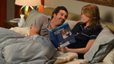 "GREY'S ANATOMY - ""Idle Hands"" - As the hospital continues to make positive changes under the new management, the doctors begin to realize that owning a hospital comes with its own set of problems and responsibilities. Meanwhile, Meredith worries about the wellbeing of her unborn baby, Callie and Arizona try to get the spark back in their relationship, and Alex gives Jo's new boyfriend a run for his money, on ""Grey's Anatomy,"" THURSDAY, MARCH 21 (9:00-10:02 p.m., ET) on the ABC Television Network. (ABC/Eric McCandless) PATRICK DEMPSEY, ELLEN POMPEO"