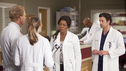 "GREY'S ANATOMY - ""The Girl with No Name"" - The doctors work on a Jane Doe, who turns out to be the subject of a case that gained national interest; Cristina proves to be the highest in demand as the residents begin their interviews for post-residency positions at prospective hospitals; and Richard is faced with an unsettling realization when he visits Adele at Rose Ridge, on ""Grey's Anatomy,"" THURSDAY, APRIL 19 (9:00-10:01 p.m., ET) on the ABC Television Network. (ABC/RANDY HOLMES) KEVIN MCKIDD, ELLEN POMPEO, LORRAINE TOUSSAINT, PATRICK DEMPSEY"