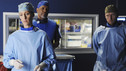"GREY'S ANATOMY - ""Shiny Happy People"" - An elderly patient admitted into the E.R. for a heart condition sees a familiar face, a long lost love who happens to be in the E.R. as well for a fractured arm, and the staff find themselves caught up in their love story. Meanwhile, Karev treats a troubled teenage patient (guest star Demi Lovato) whose parents brought her in for schizophrenia, and Meredith can't help but tell Cristina about her suspicions of Owen -- which inevitably messes with Cristina's head -- on ""Grey's Anatomy,"" THURSDAY, MAY 13 (9:00-10:01 p.m., ET) on the ABC Television Network. (ABC/MITCH HADDAD) KIM RAVER, JAMES PICKENS, JR., KEVIN MCKIDD"