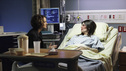 "PRIVATE PRACTICE - ""Losing Battles"" - Just as Violet's personal life takes a turn for the better with Scott, the paramedic, Joanna (the abused woman she met at the airport months earlier) arrives in need of urgent medical attention, being both pregnant and badly beaten; Cooper, Charlotte and Amelia all counsel Erica on the toughest decision of her life; and Addison and Jake meet with potential surrogates, on ABC's ""Private Practice"" THURSDAY, JANUARY 19 (10:02-11:00 p.m., ET) on the ABC Television Network. (ABC/KELSEY MCNEAL) AMY BRENNEMAN, BETSY BRANDT"