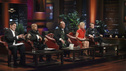 "SHARK TANK - ""Episode 313"" - The inventor of Rollerblades hopes to get investment money to put toward his newest invention, an elevated mono-rail bike system. An amazing story from a Rochester, NY businesswoman who hopes her dream comes true and strikes a deal for her innovative shoe accessories that can turn any shoe into a boot. A man from Buena Park, CA must convince the Sharks that there is a market for a custom made air mattress that fits in the back of a pickup truck; and a fashion designer from Dallas, TX has over a billion reasons the Sharks should see the value in his customized cruiser bikes that can be designed on an interactive website. There is a follow-up on Ladera Ranch, California's Shelly Ehler and her ShowNo, a unique towel design that provides coverage when changing out of a swimsuit in public places, which Lori Greiner invested in during Season 3, on ""Shark Tank,"" FRIDAY, MAY 4 (8:00-9:01 p.m., ET) on the ABC Television Network. (ABC/RICHARD CARTWRIGHT) MARK CUBAN, DAYMOND JOHN, KEVIN O'LEARY, BARBARA CORCORAN, ROBERT HERJAVEC"