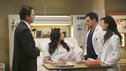 "GREY'S ANATOMY - ""Hard Bargain"" - As the hospital spirals closer to financial ruin, Owen must make some tough decisions, which includes foregoing an expensive surgery that could save the life of a child. Meanwhile, Alex and Jo work together to save the life of an infant, and April asks Jackson for dating advice, on ""Grey's Anatomy,"" THURSDAY, FEBRUARY 14 (9:00-10:02 p.m., ET) on the ABC Television Network. (ABC/RICHARD CARTWRIGHT) MICHAEL REILLY BURKE, DANIELLE BISUTTI, JUSTIN CHAMBERS, CAMILLA LUDDINGTON"