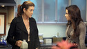 "PRIVATE PRACTICE - ""Can't Find My Way Back Home"" - Despite how Charlotte is choosing to deal with the aftermath of her sexual assault, her fellow doctors think they know what's best, teaming up to pursue criminal charges against her attacker. Pete gets a surprise visitor, his estranged brother, who has come to ask Pete to help release their sick mother from prison, on ""Private Practice,"" THURSDAY, NOVEMBER 18 (10:01-11:00 p.m., ET) on the ABC Television Network. (ABC/DANNY FELD) KATE WALSH, CATERINA SCORSONE"