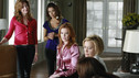 "DESPERATE HOUSEWIVES - ""Nice is Different Than Good"" - On the season premiere of ""Desperate Housewives,"" Mike Delfino's bride will finally be revealed: Will it be Katherine... or will recent events be enough to bring him and Susan back together? Lynette faces the reality of another pregnancy; Bree struggles to break free from Orson and her inhibitions; Gaby is put to the test by Carlos' teenaged niece, now in their care; and a new family with a dark past moves to Wisteria Lane, on ""Desperate Housewives,"" SUNDAY, SEPTEMBER 27 (9:00-10:01 p.m., ET) on the ABC Television Network. (ABC/RON TOM) DANA DELANY, EVA LONGORIA PARKER, MARCIA CROSS, FELICITY HUFFMAN, TERI HATCHER"