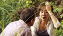 "LOST - ""The Package"" - Sun and Jin desperately continue their search for one another, and Locke confronts his enemy, on ""Lost,"" TUESDAY, MARCH 30 (9:00-10:02 p.m., ET) on the ABC Television Network. (ABC/MARIO PEREZ) MICHAEL EMERSON, YUNJIN KIM"