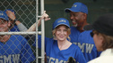 "GREY'S ANATOMY - ""Put Me In, Coach"" - Owen stresses teamwork and moves his leadership role over to the baseball field when he signs the doctors up for a baseball league, pitting them against their biggest competition, Seattle Presbyterian; Lexie tries to hide her jealous rage when she sees Mark with a new woman, but her emotions get the better of her; Alex fights to keep Zola at Seattle Grace after it is suggested that she be moved to another hospital due to a conflict of interest with Meredith and Derek; and Richard scolds Meredith and Bailey for their feud, on Grey's Anatomy, THURSDAY, OCTOBER 27 (9:00-10:02 p.m., ET) on the ABC Television Network. (ABC/RICHARD CARTWRIGHT) JUSTIN CHAMBERS, ELLEN POMPEO, JAMES PICKENS JR."
