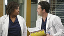 GREY'S ANATOMY - &quot;Blink&quot;- Mark flies Addison to Seattle to help with a difficult procedure on his pregnant daughter, Sloan, Owen questions Teddy's motives when she assigns Cristina the lead on a complicated surgery, and Derek's suspicions are raised when the Chief recruits Meredith to assist with a high profile operation on, &quot;Grey's Anatomy,&quot; THURSDAY, JANUARY 14 (9:00-10:01 p.m., ET) on the ABC Television Network. (ABC/ADAM TAYLOR) CHANDRA WILSON, PATRICK DEMPSEY