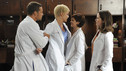 "GREY'S ANATOMY - ""Invasion"" - The residents of Seattle Grace and Mercy West vie for surgeries and their careers as day one of the hospital merger begins. Meanwhile, Arizona stands by an enraged Callie when her father, Mr. Torres, employs a priest to help convince her to date men, and Izzie experiences the brunt of her new surgical competition, on ""Grey's Anatomy,"" THURSDAY, OCTOBER 15 (9:00-10:01 p.m., ET) on the ABC Television Network. (ABC/ERIC MCCANDLESS) JUSTIN CHAMBERS, KATHERINE HEIGL, ZORA ZEHETNER, SARAH DREW"