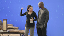 "PRIVATE PRACTICE - ""True Colors"" - Addison, Pete and the team treat an illegal immigrant facing deportation who self-induces her pregnancy so that her child will be a U.S. citizen; Cooper and Violet work with a young girl who has gender identity disorder - and with her parents -- and Violet wants to continue therapy with Pete before they begin dating again, on Private Practice, TUESDAY, MAY 1 (10:01-11:00 p.m., ET) on the ABC Television Network. (ABC/KAREN NEAL) CATERINA SCORSONE, TAYE DIGGS"