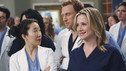 "GREY'S ANATOMY - ""State of Love and Trust"" - As Derek begins his role as interim chief, he faces a potential lawsuit when Bailey and Meredith's patient awakens from anesthesia mid-surgery. Meanwhile, Teddy refuses to place Cristina on her service, as Arizona tests Alex out in Pediatrics, and Mark refuses to speak to a heartbroken Lexie, on ""Grey's Anatomy,"" THURSDAY, FEBRUARY 4 (9:00-10:01 p.m., ET) on the ABC Television Network. (ABC/ADAM LARKEY) ROBERT BAKER, SARA RAMIREZ (OBSCURED), SANDRA OH, KEVIN MCKIDD, JESSICA CAPSHAW"
