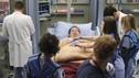 "GREY'S ANATOMY - ""How Insensitive"" - Bailey preps the team with a mandatory sensitivity training prior to admitting a 700-pound patient with compounded medical issues, and the case proves to be challenging in every sense of the word. Meanwhile Derek has to come face to face with a former patient's husband in a wrongful death deposition, and spending time with a heart patient's daughter opens up some old wounds for Cristina, on ""Grey's Anatomy,"" THURSDAY, MAY 6 (9:00-10:01 p.m., ET) on the ABC Television Network. (ABC/RON TOM) JERRY KERNION, KEVIN MCKIDD, SARAH DREW, ROBERT BAKER"