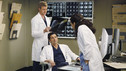 "GREY'S ANATOMY - ""Give Peace a Chance"" - When Isaac, the hospital lab tech, has an inoperable tumor wrapped around his spine, he turns to Dr. Derek Shepherd to do the impossible, and Derek tests the Chief's authority when Richard objects to moving forward with the risky surgery, on ""Grey's Anatomy,"" THURSDAY, OCTOBER 29 (9:00-10:01 p.m., ET) on the ABC Television Network. (ABC/KAREN NEAL) ERIC DANE, PATRICK DEMPSEY, SANDRA OH"