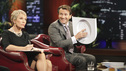 "SHARK TANK - ""Episode 208"" -- A woman from Yardley, Pennsylvania could help cat lovers everywhere if the Sharks invest in her toilet training kit for cats, and the Sharks fight each other for a piece of a multi-million dollar company owned by a pharmacist from Palm Beach Gardens, Florida, who has invented a shoe with interchangeable tops. Also in this episode, an entrepreneur from Chicago is hoping to reposition her once successful designer line of maternity t-shirts; and an artist originally from Mexico City (now living in Chicago) and eager to make his American dream come true hopes the Sharks will want to invest in his line of extravagant yet affordable jewelry. In addition there will be a follow up from Season 1 on the father and son team behind Voyage Air Guitar and what happened to their business after turning down the Sharks' $1 million dollar offer, on the Season Finale of ""Shark Tank,"" FRIDAY, MAY 13 (8:00-9:00 p.m., ET) on the ABC Television Network. (ABC/ADAM TAYLOR) BARBARA CORCORAN, ROBERT HERJAVEC"