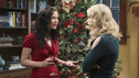 "GREY'S ANATOMY - ""Holidaze"" -- As Thanksgiving, Christmas and New Year's pass, Miranda is visited by her father, William, who disapproves of her choices in life; meanwhile, Mark and Lexie must cope with the shocking arrival of a woman from his past, and Thatcher Grey questions the Chief's recent behavior as Meredith comes to his defense, on ""Grey's Anatomy,"" THURSDAY, NOVEMBER 19 (9:00-10:01 p.m., ET) on the ABC Television Network. (ABC/DANNY FELD) CHYLER LEIGH, LEVEN RAMBIN"