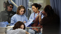 "GREY'S ANATOMY - ""Things We Said Today"" - Bailey puts her wedding day on hold and continues her efforts to save Adele's life, Cristina and Owen remain undecided about their pending divorce, while Arizona and Callie try to get their spark back. Meanwhile, the hospital becomes inundated with a group of bikers after a horrible accident, on ""Grey's Anatomy,"" THURSDAY, JANUARY 10 (9:00-10:02 p.m., ET) on the ABC Television Network. (ABC/KELSEY MCNEAL) TINA MAJORINO, SANDRA OH"