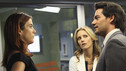 PRIVATE PRACTICE - &quot;In or Out&quot; - Much to her displeasure, Addison is teamed with a new oncologist, Dr. Rodriguez, to treat a newborn baby with a malignant tumor; when Violet and Sheldon visit a prison in order to interview inmates who are up for parole, Pete is highly uncomfortable as Violet tries to help a parolee; and Addison and Violet suggest Sheldon could be the solution for Amelia's needs, on &quot;Private Practice,&quot; THURSDAY, OCTOBER 21 (10:01-11:00 p.m., ET) on the ABC Television Network. (ABC/RON TOM) KATE WALSH, KADEE STRICKLAND, CRISTIAN DE LA FUENTE