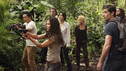 "LOST - ""The Candidate"" - Jack must decide whether or not to trust Locke after he is asked to follow through on a difficult task, on ""Lost,"" TUESDAY, MAY 4 (9:00-10:02 p.m., ET) on the ABC Television Network. (ABC/MARIO PEREZ) DANIEL DAE KIM, EVANGELINE LILLY, JEFF FAHEY, YUNJIN KIM, EMILIE DE RAVIN, MATTHEW FOX, JORGE GARCIA"