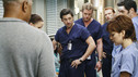 "GREY'S ANATOMY - ""I Saw What I Saw"" - After a burn victim unexpectedly dies in the midst of a chaotic ER, the Chief and board member Jennings interrogate the residents to find the culprit, as all the Mercy West and Seattle Grace resident defends their actions in an effort to save their jobs, on ""Grey's Anatomy,"" THURSDAY, OCTOBER 22 (9:00-10:01 p.m., ET) on the ABC Television Network. (ABC/RON TOM) JAMES PICKENS JR., CHYLER LEIGH, PATRICK DEMPSEY, ERIC DANE, KEVIN MCKIDD, NORA ZEHETNER, ROBERT BAKER"