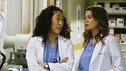"GREY'S ANATOMY - ""Here's to Future Days"" - Cristina and Meredith discuss Izzie's treatment, on ""Grey's Anatomy,"" THURSDAY, MAY 14 (9:00-11:00 p.m., ET) on the ABC Television Network. SANDRA OH, ELLEN POMPEO"