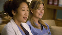 GREY'S ANATOMY - &quot;Brave New World&quot; - Meredith and Cristina discover the wonderful world of Dermatology, on &quot;Grey's Anatomy,&quot; THURSDAY, OCTOBER 16 (9:00-10:01 p.m., ET) on the ABC Television Network. (ABC/RANDY HOLMES) SANDRA OH, ELLEN POMPEO