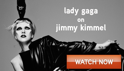 Lady Gaga on&#xD;&#xA;Jimmy Kimmel Live