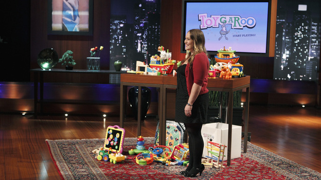 SHARK TANK - &quot;Episode 202&quot; - Season Two of &quot;Shark Tank&quot; promises to make TV history with the Sharks offering over $10 million in investment deals to bankroll a creative array of innovative entrepreneurs. This season, high tech billionaire entrepreneur Mark Cuban and successful comedian and self-made businessman Jeff Foxworthy jump into the Tank to appear separately in the show's nine episodes. The Season Premiere, &quot;Episode 202,&quot; airs FRIDAY, MARCH 25 (8:00-9:00 p.m., ET) on ABC. (ABC/CRAIG SJODIN)NIKKI POPE (TOYGAROO)