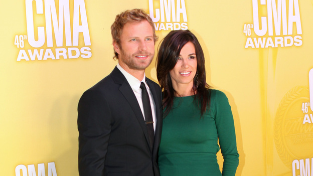 "THE 46TH ANNUAL CMA AWARDS - RED CARPET ARRIVALS - ""The 46th Annual CMA Awards"" airs live THURSDAY, NOVEMBER 1 (8:00-11:00 p.m., ET) on ABC live from the Bridgestone Arena in Nashville, Tennessee. (ABC/SARA KAUSS)DIERKS BENTLEY"