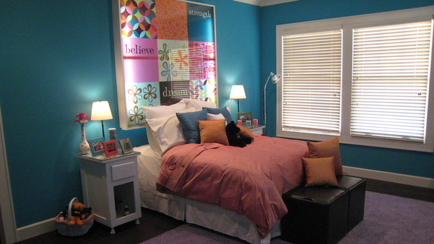 EXTREME MAKEOVER HOME EDITION - &quot;Jacobo Family,&quot; - Girl's Bedroom, on &quot;Extreme Makeover Home Edition,&quot; Sunday, May 13th on the ABC Television Network.