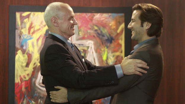 "LOST - ""Happily Ever After"" - Desmond wakes up to discover he's back on the island, on ""Lost,"" TUESDAY, APRIL 6 (9:00-10:02 p.m., ET) on the ABC Television Network. (ABC/MARIO PEREZ) ALAN DALE, HENRY IAN CUSICK"