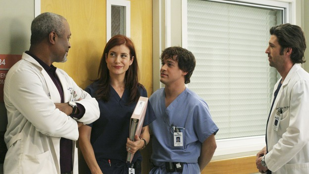 "GREY'S ANATOMY - ""It's the End of the World (As We Know It)""(ABC/KAREN NEAL)JAMES PICKENS, JR., KATE WALSH, T.R. KNIGHT, PATRICK DEMPSEY"