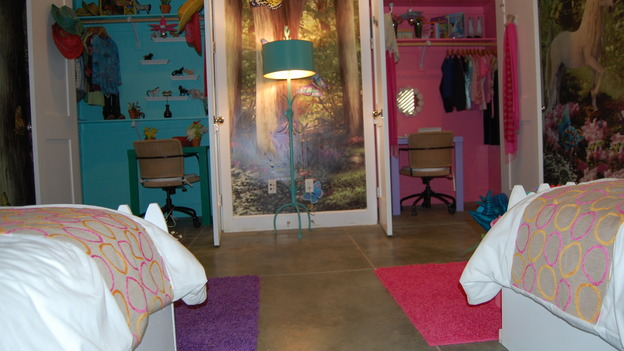 "EXTREME MAKEOVER HOME EDITION - ""Almquist Family,"" - Girls' Bedroom, on ""Extreme Makeover Home Edition,"" Sunday, March 29th on the ABC Television Network."