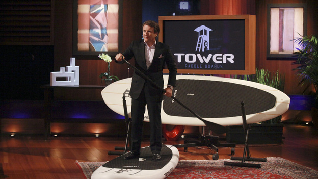 SHARK TANK - &quot;Episode 314&quot; - Tempers flare and insults fly when the Sharks fight over an innovative three-in-one nail polish invented by a mother of six girls from West Hartford, CT, who had to sell her engagement ring to start her business. A husband and wife team of feisty New Yorkers believe they have the next big thing in women's accessories; two Pittsburgh hockey moms pitch their home-grown tank top business with interchangeable straps; and a couple from Pasadena, CA insist that their unique sippy cups be manufactured in the USA to maintain quality. In a follow up story, the entrepreneurs behind Talbott Teas from Chicago, IL have big news about a deal with Jamba Juice after their TV appearance, on &quot;Shark Tank,&quot; FRIDAY, APRIL 27 (8:00-9:01 p.m., ET) on the ABC Television Network. (ABC/RICHARD CARTWRIGHT)ROBERT HERJAVEC