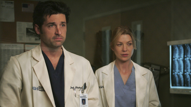 101745_057 -- GREY'S ANATOMY - &quot;NO MAN'S LAND&quot; (ABC/VIVIAN ZINK)PATRICK DEMPSEY, ELLEN POMPEO